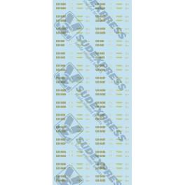 Folha decalques CP 1400
