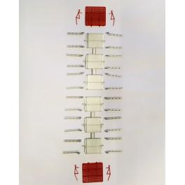 Kit de 2 contentores de fueiros Takargo