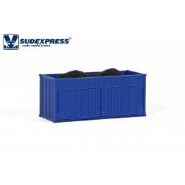 20'  Petcoke container